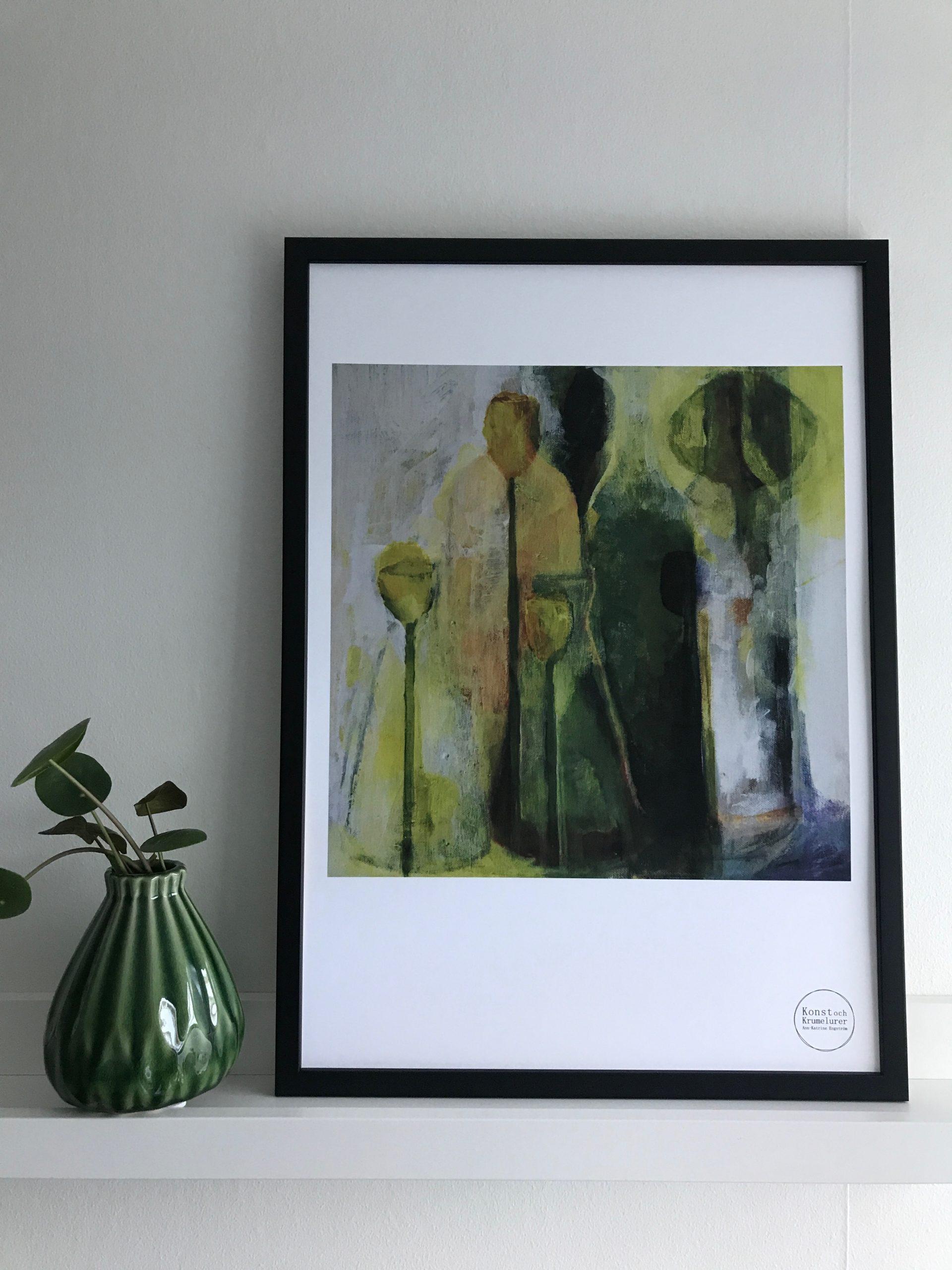 Stilleben Abstrakt, Poster